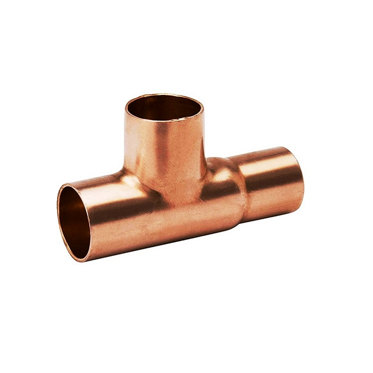 Copper Reducing Tee