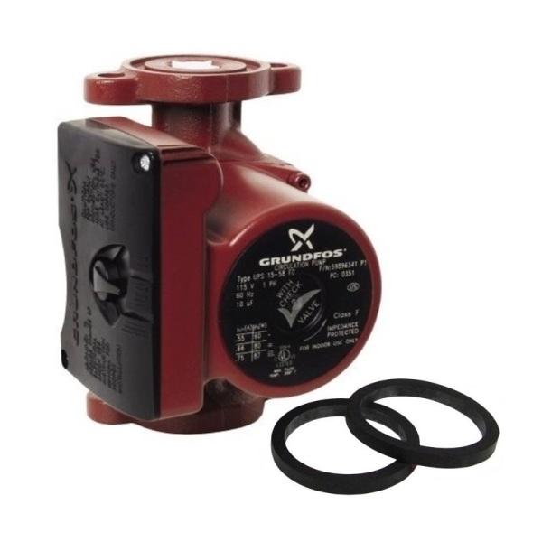 Grundfos UPS15-58FRC 3-Spd Circulator Pump,IFC 59896343