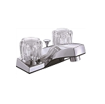 TWO HANDLE ACRYLIC LAVATORY FAUCET - 17141-NL
