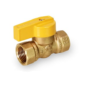 "1/2"" FIP Gas Ball Valve One Piece - OP4512"