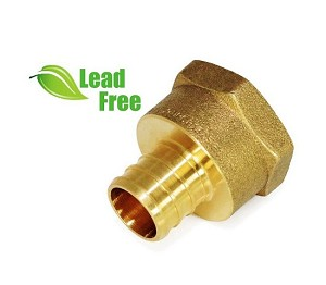 "1"" PEX x 1"" Female Threaded Adapter (Lead-Free)"