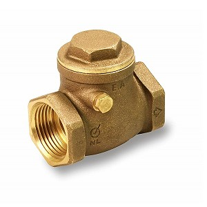 "1/2"" Threaded Swing Check Valve Lead Free - 210T012-NL"