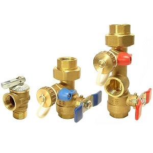 "3/4"" Tankless Water Heater Descaling Valve Kit -Threaded (FREE SHIPPING)"