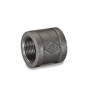 "1/2"" Black Pipe Coupling - P6682"