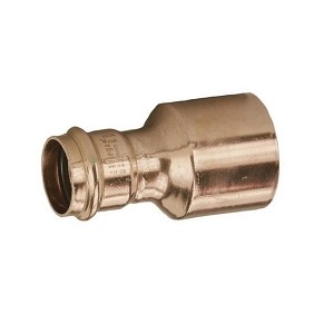 "1 1/4"" x 1"" Propress Copper fitting Reducer (P x FTG)"