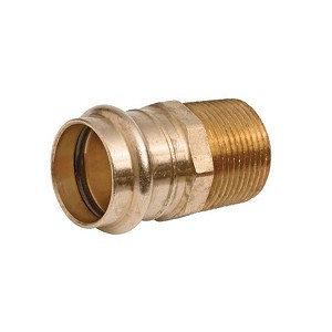 "2"" Propress Copper Male Adapter (P x MPT)"