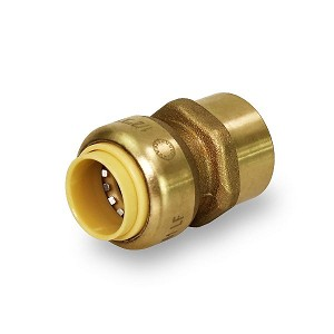 "PUSHLOCK - 1"" PUSH-IN X 1"" THREADED FEMALE ADAPTERS, UPFC1"